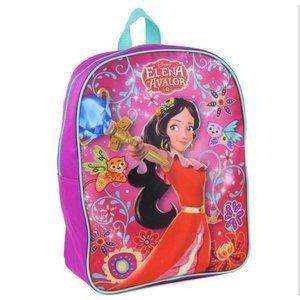 🍄Disney Elena of Avalor Purple&Blue Kids Backpack
